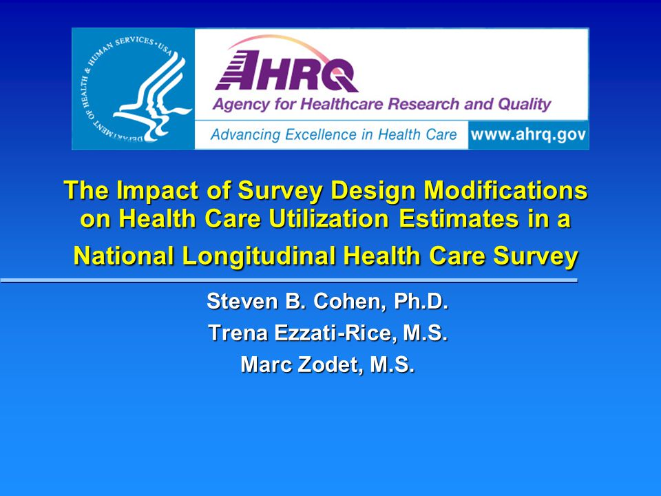 Strategies to Improve Accuracy MEPS includes a linked survey of medical providers for expenditures: use of medical event information to evaluate household reports of health care use MEPS includes a linked survey of medical providers for expenditures: use of medical event information to evaluate household reports of health care use MEPS data periodically linked to Medicare claims data for evaluations: permits examination of accuracy of household reported data MEPS data periodically linked to Medicare claims data for evaluations: permits examination of accuracy of household reported data Implement additional improvements to the CAPI interview and enhanced post-survey adjustment strategies Implement additional improvements to the CAPI interview and enhanced post-survey adjustment strategies