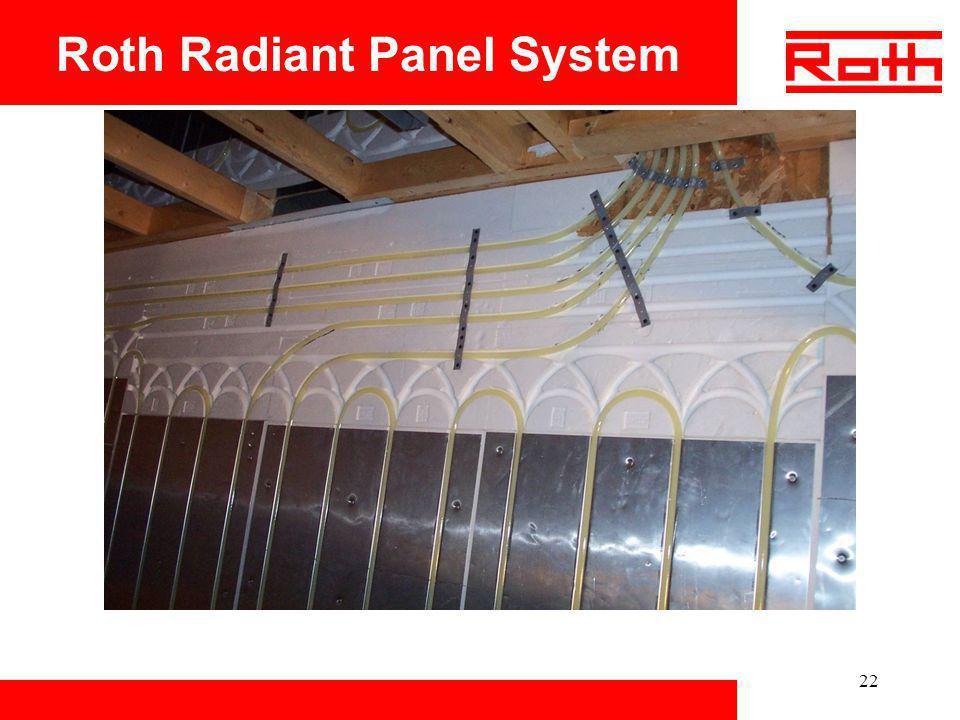 22 Roth Radiant Panel System