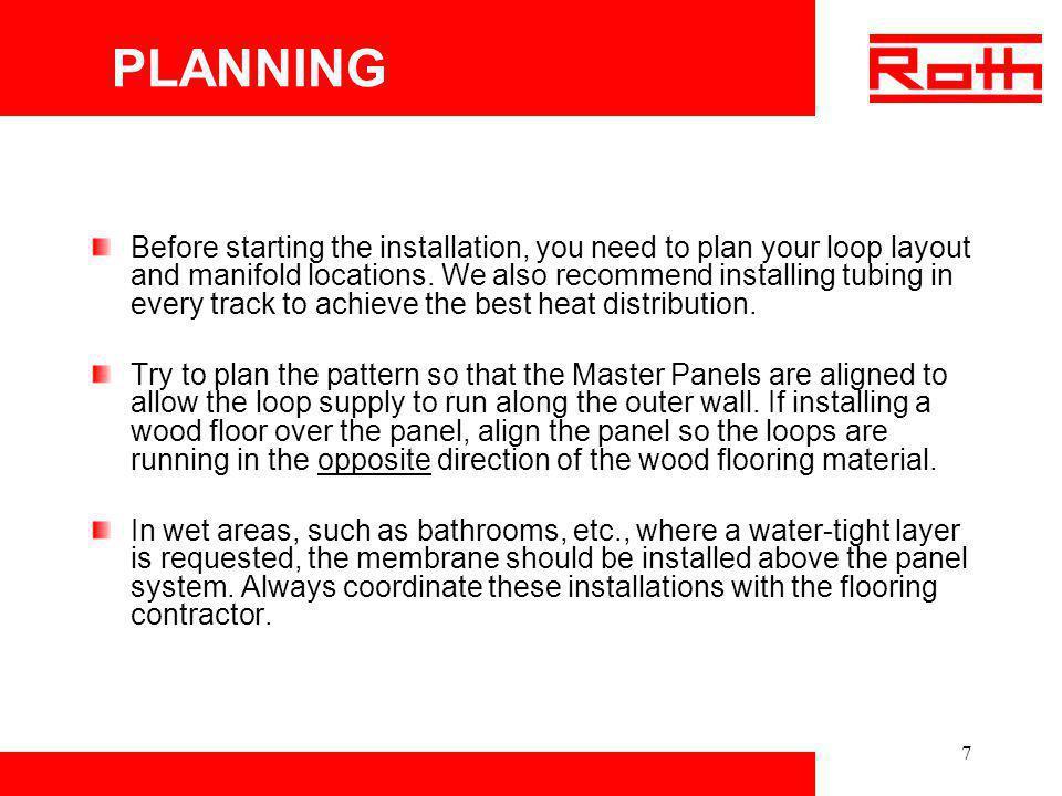 18 Roth Radiant Panel System