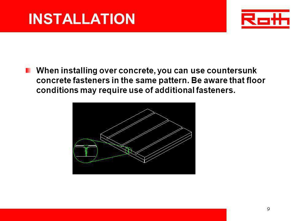 30 Roth Radiant Panel System
