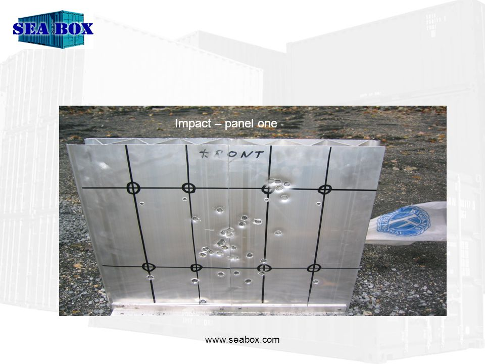 www.seabox.com Impact – panel one