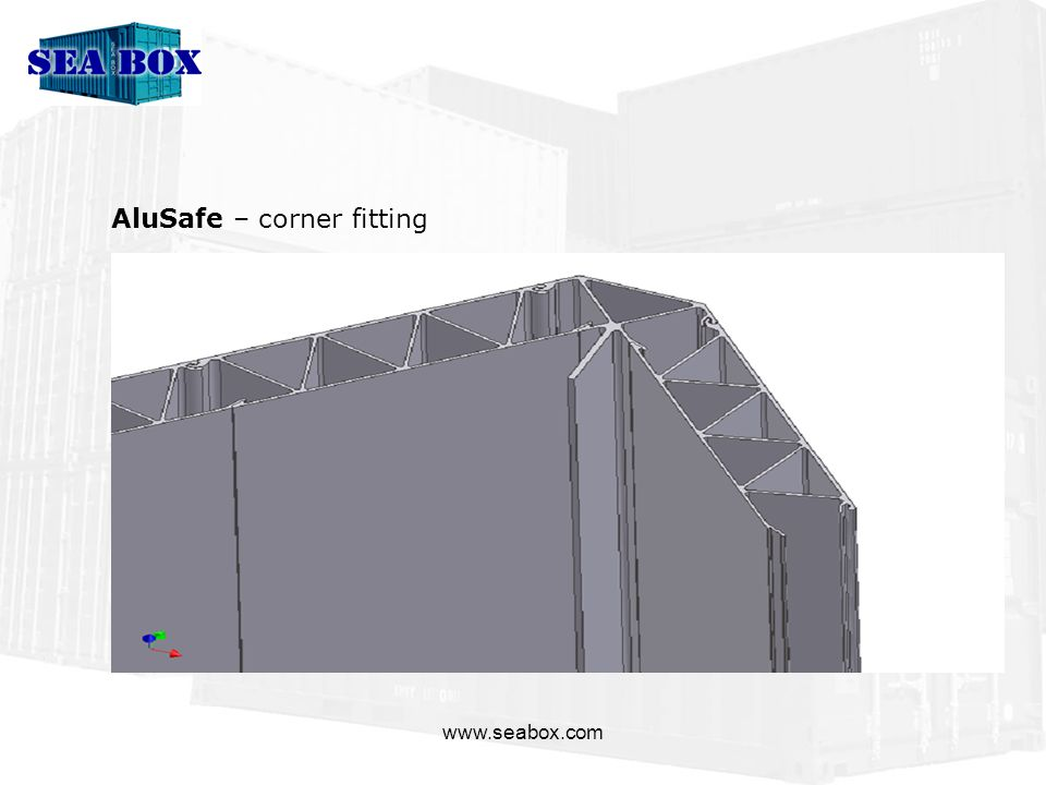 www.seabox.com AluSafe – corner fitting