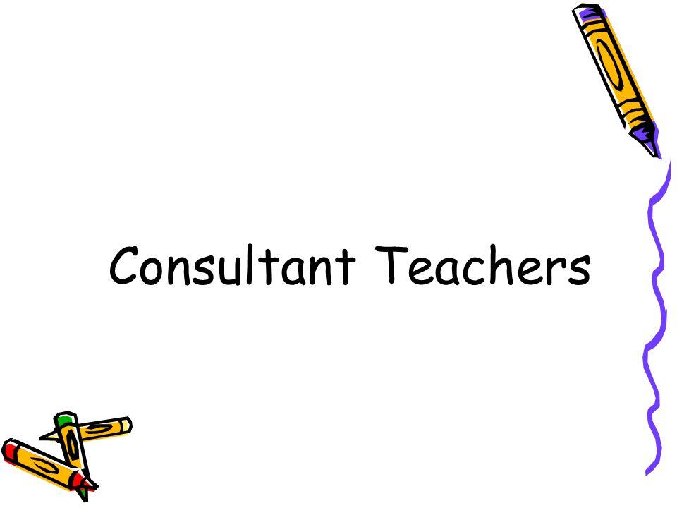 Consultant Teachers