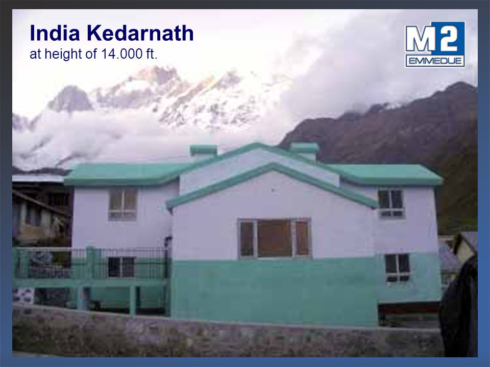 India Kedarnath at height of 14.000 ft.