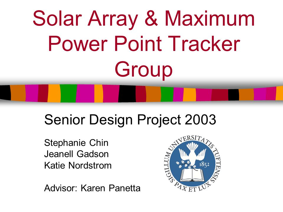What is a Maximum Power Point Tracker.