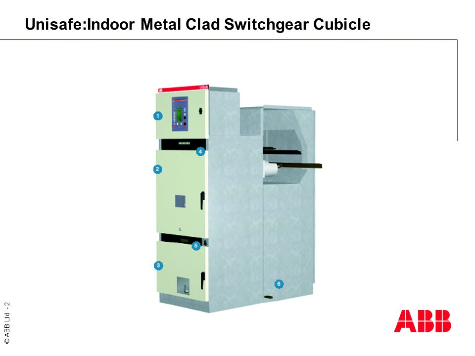 © ABB Ltd - 2 Unisafe:Indoor Metal Clad Switchgear Cubicle
