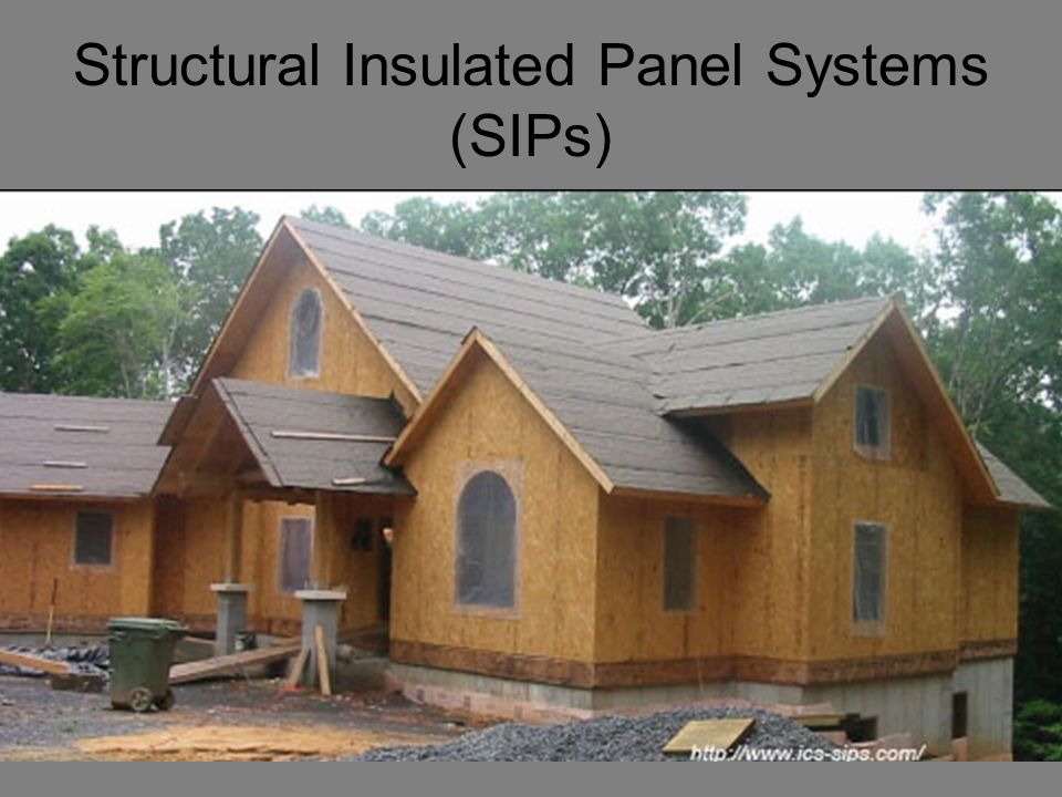 Energy efficient 0 0.5 1 1.5 2 2.5 3 Whole Wall Thermal Resistance of SIPs Compared to Light Timber Framing Whole wall r-value (K-m2/W) SIP Light timber