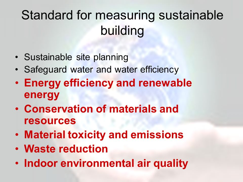 Claims for SIPs by manufacturers and suppliers are similar Energy efficient Renewable Waste efficient Healthy Energy efficiency and renewable energy Conservation of materials and resources Waste reduction Material toxicity and emissions Indoor environmental air quality