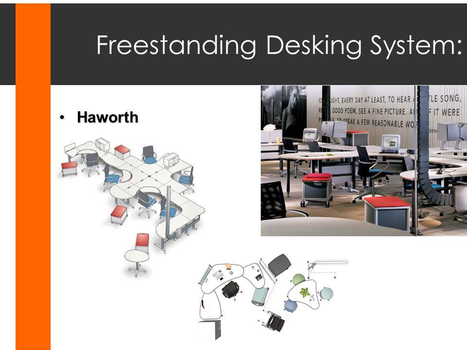 Freestanding Desking System: Haworth IfHaworth If