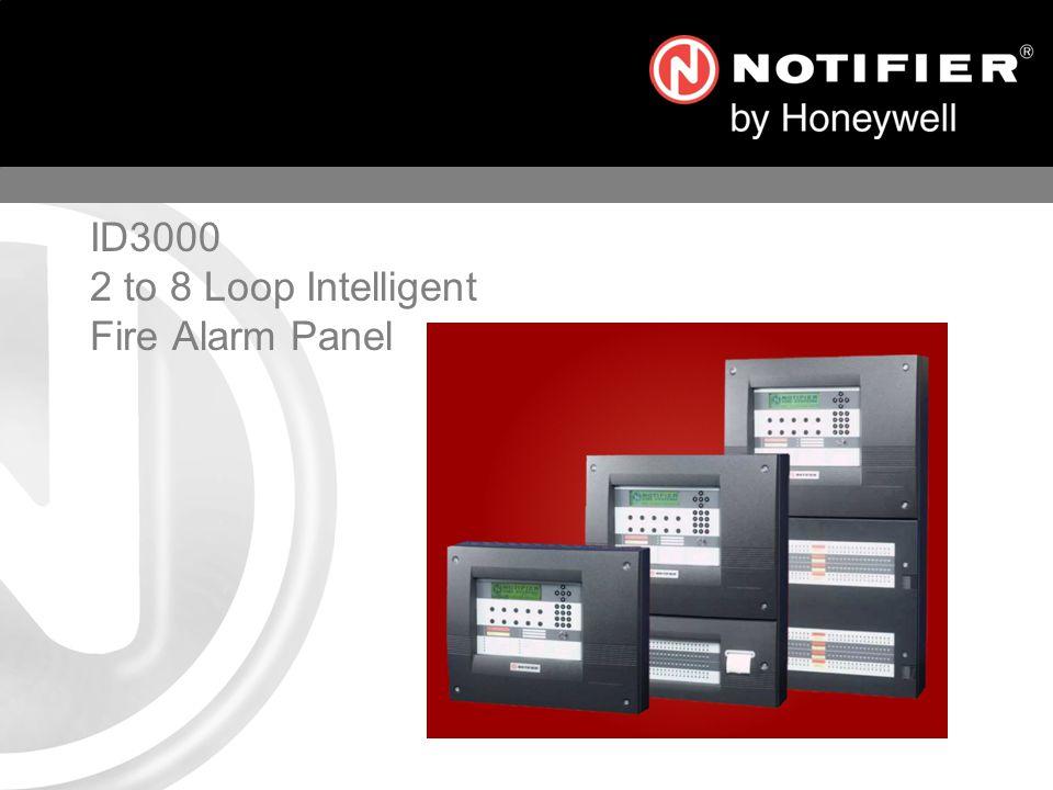 ID3000 2 to 8 Loop Intelligent Fire Alarm Panel