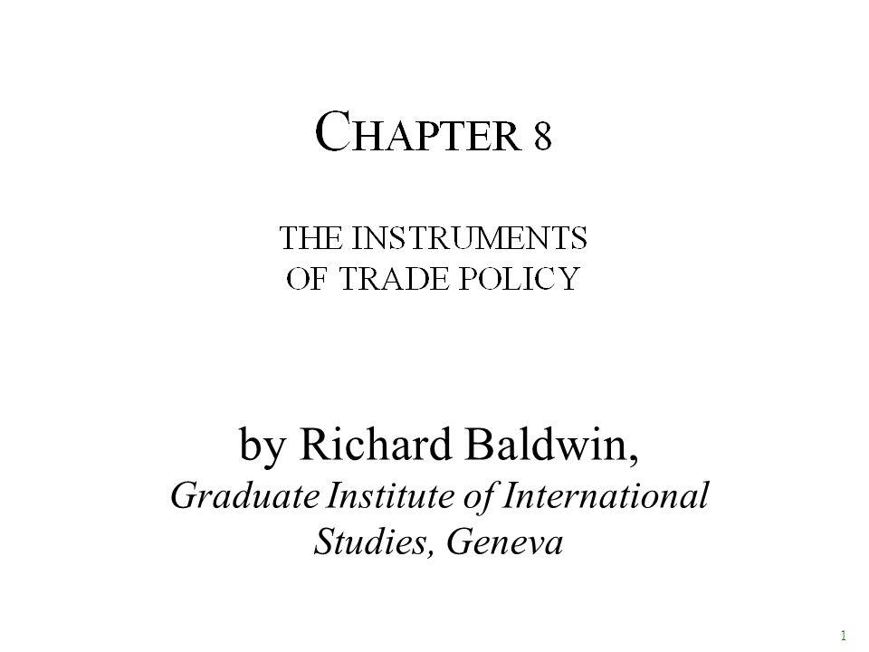 1 by Richard Baldwin, Graduate Institute of International Studies, Geneva