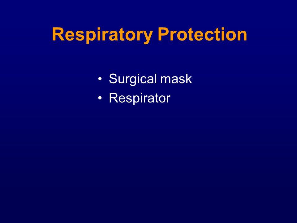 Respiratory Protection Surgical mask Respirator