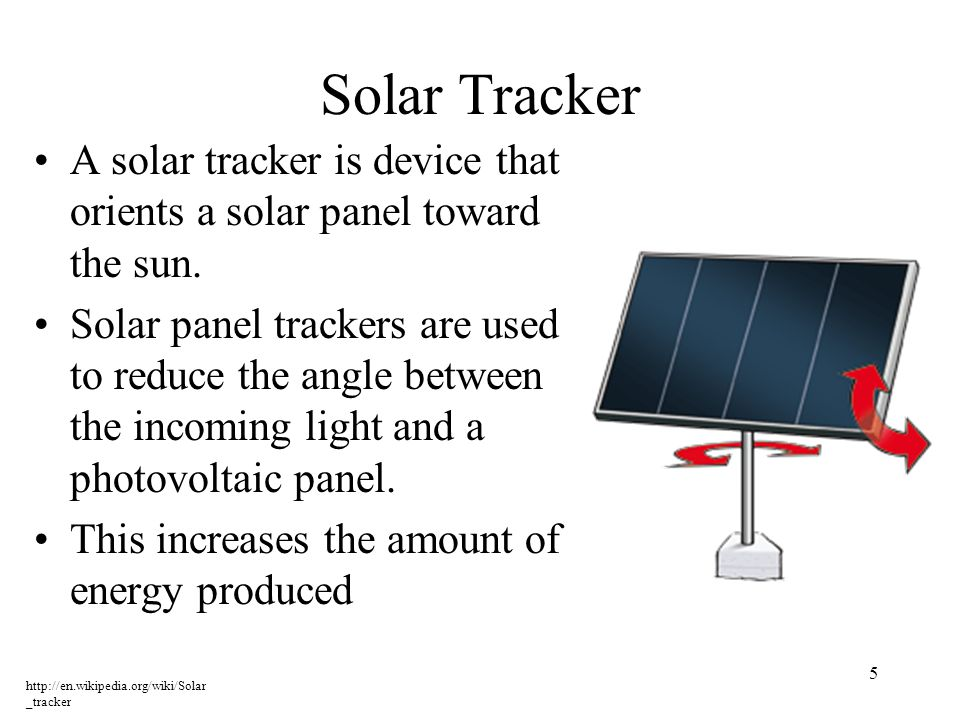 http://www.justmeans.com/editor ial/wp- content/uploads/2010/02/mil_sol ar_farm_nellis_afb_lg.jpg 6 Trackers are used on most large solar farms