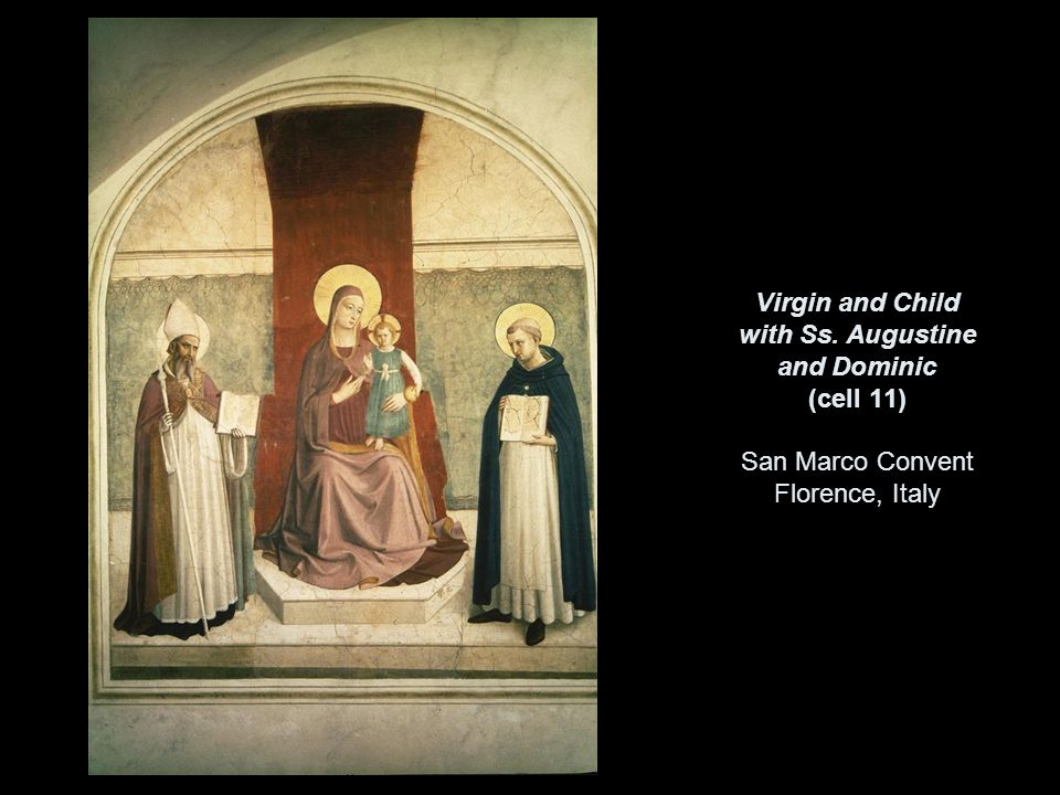 Virgin and Child with Ss. Augustine and Dominic (cell 11) San Marco Convent Florence, Italy