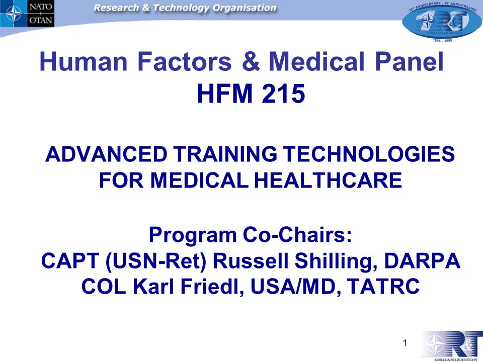To optimize the: Health Safety Well-being Performance of the human in operational environments MISSION