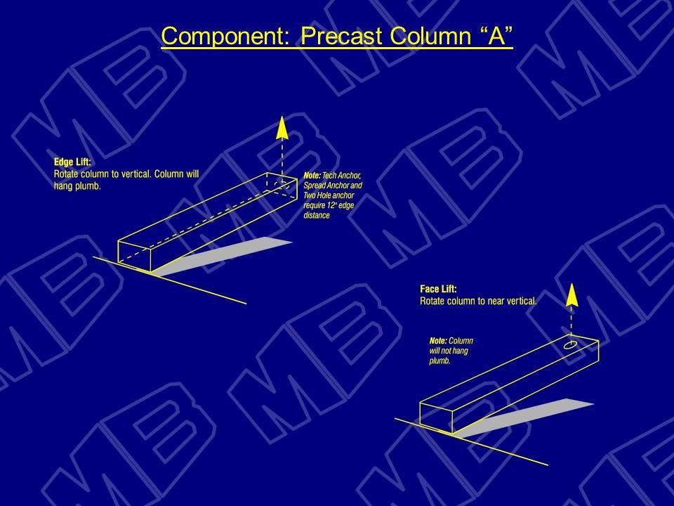 Component: Precast Column A