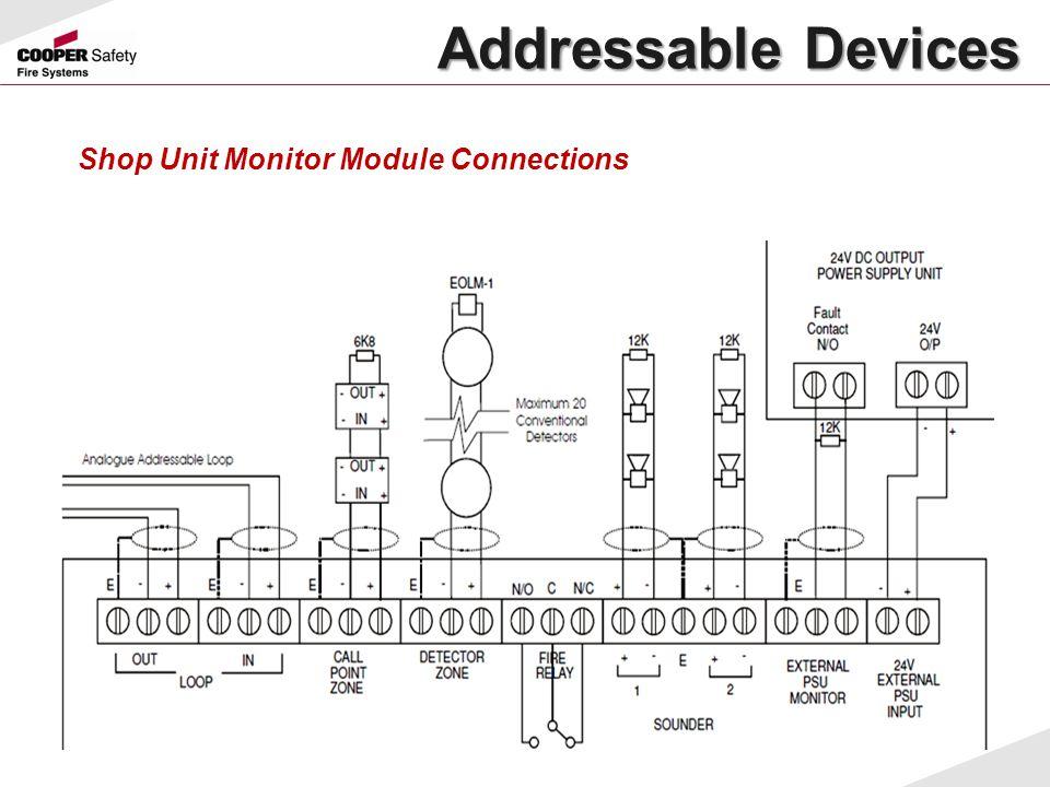 Shop Unit Monitor Module Connections Addressable Devices