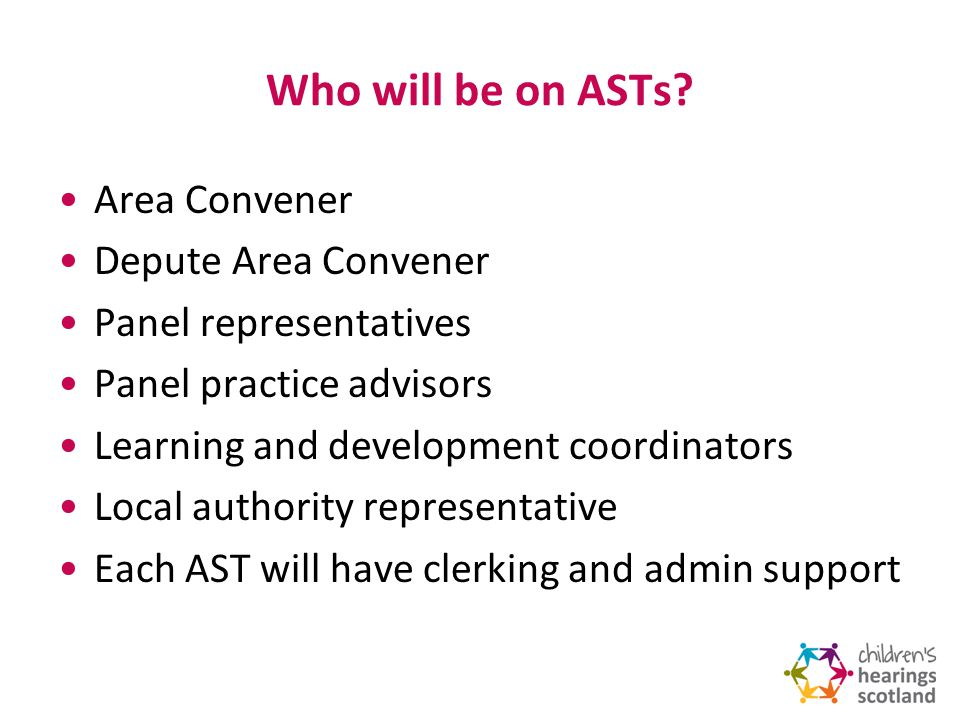 What will ASTs do.