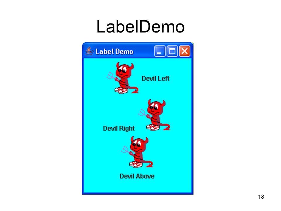18 LabelDemo