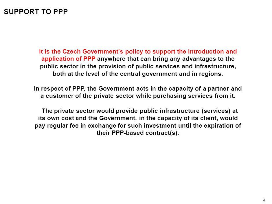 19 LEGISLATIVE ENVIRONMENT 1) Scope of authority 2)Fiscal regulation 3)Transactions involving public property 4)Public procurement 5)Concession agreements 6)Clarity of cash flows