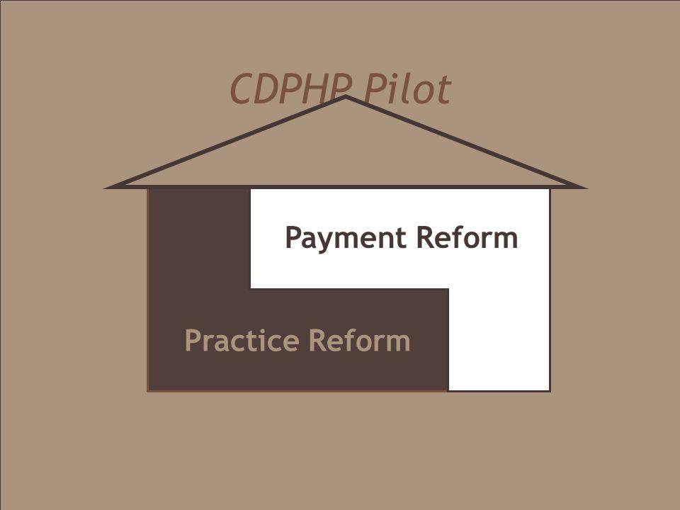 CDPHP Pilot Practice Reform Payment Reform
