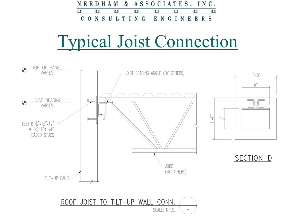 Typical Joist Connection