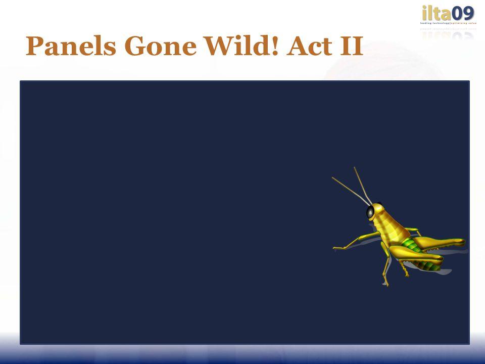Panels Gone Wild! Act II
