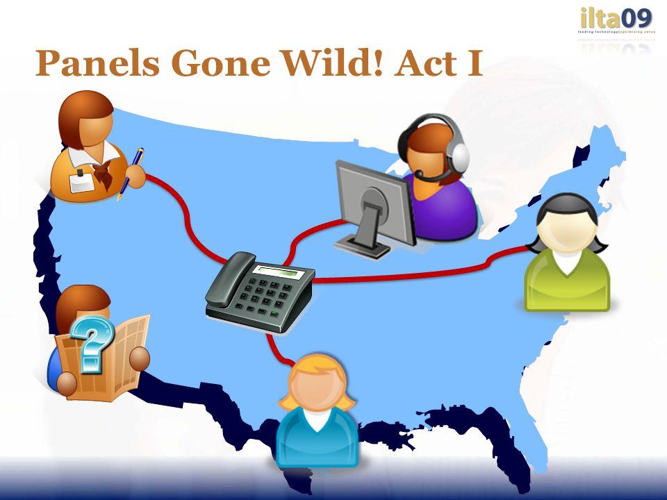Panels Gone Wild! Act I