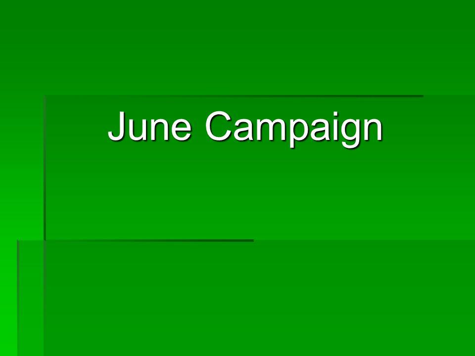 June Campaign June Campaign