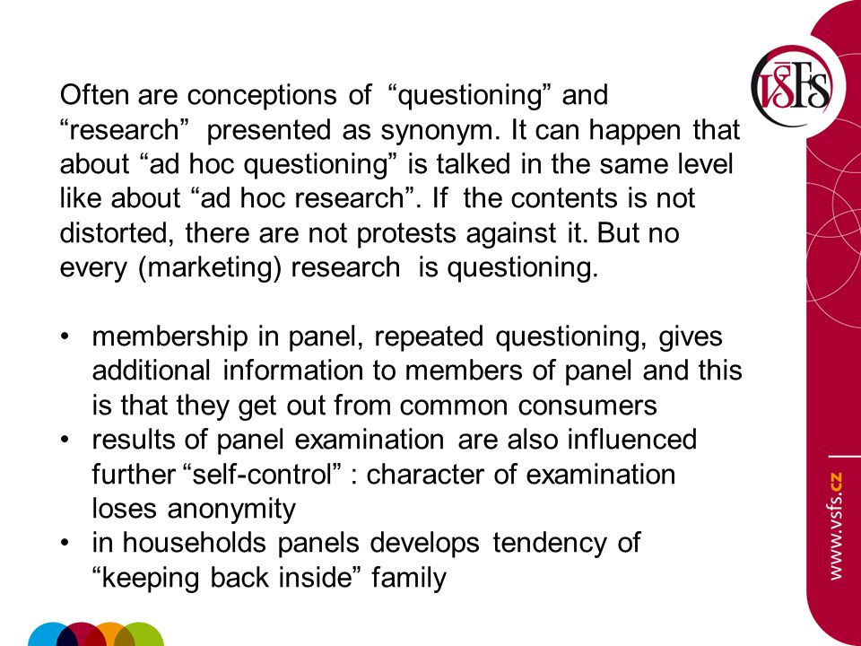 Often are conceptions of questioning and research presented as synonym.