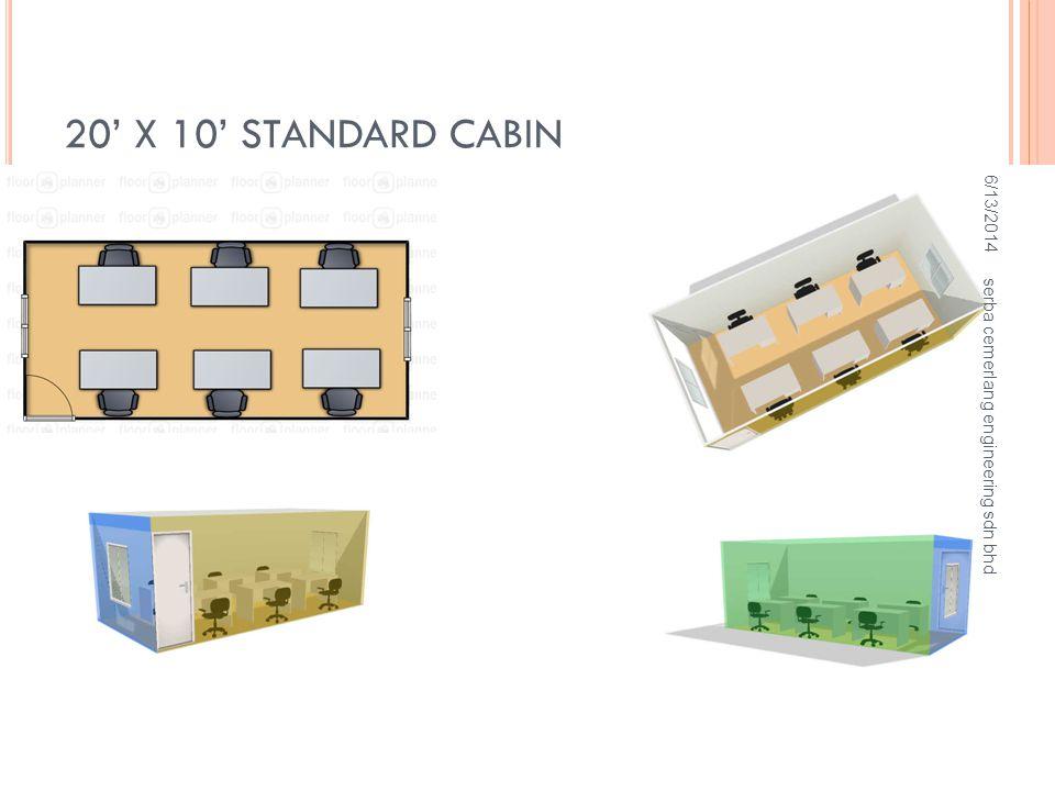 UNIQUE DESIGN CABIN 6/13/2014 serba cemerlang engineering sdn bhd