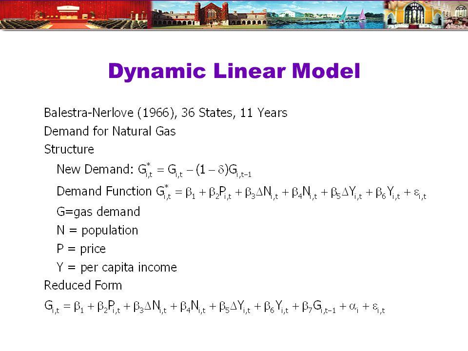 Dynamic Linear Model