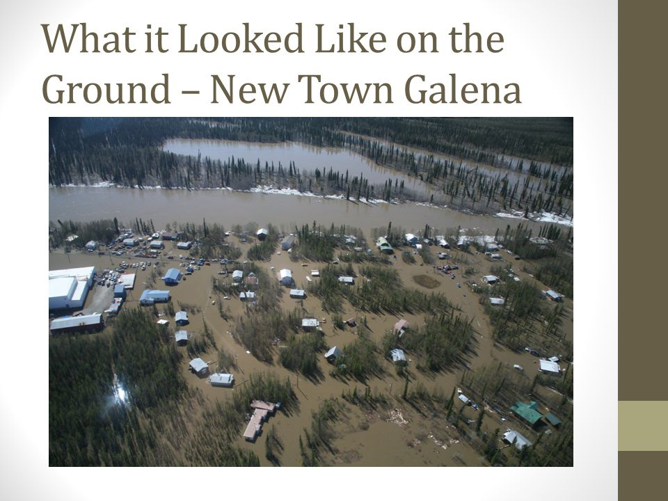 What it Looked Like on the Ground – New Town Galena