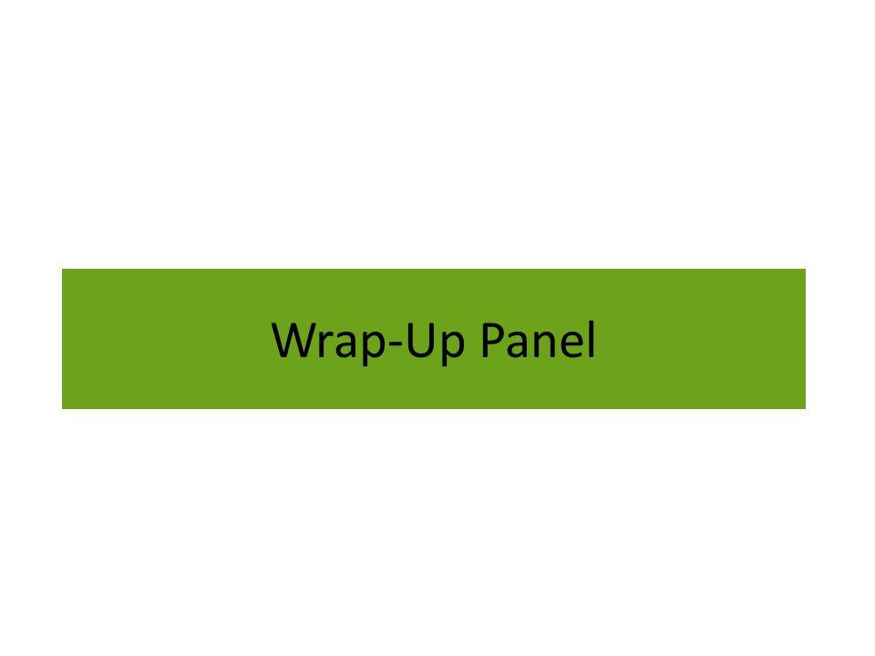 Wrap-Up Panel
