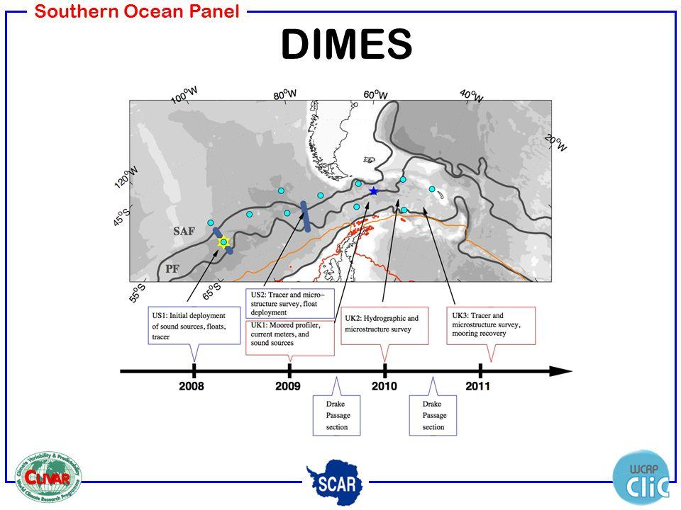 Southern Ocean Panel DIMES