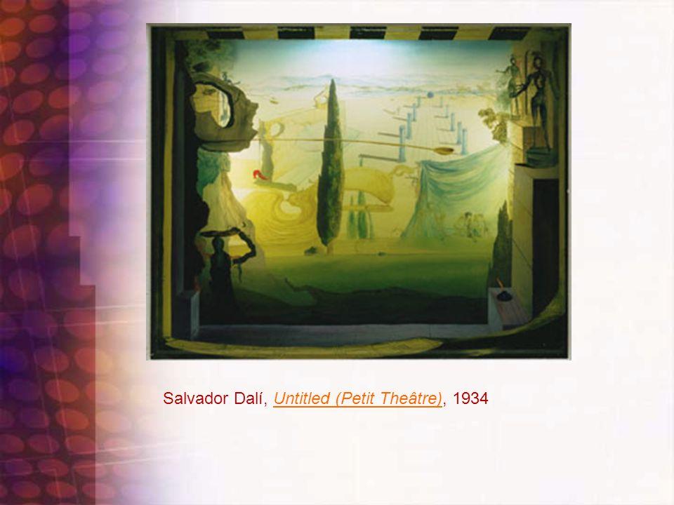 Salvador Dalí, Untitled (Petit Theâtre), 1934Untitled (Petit Theâtre)