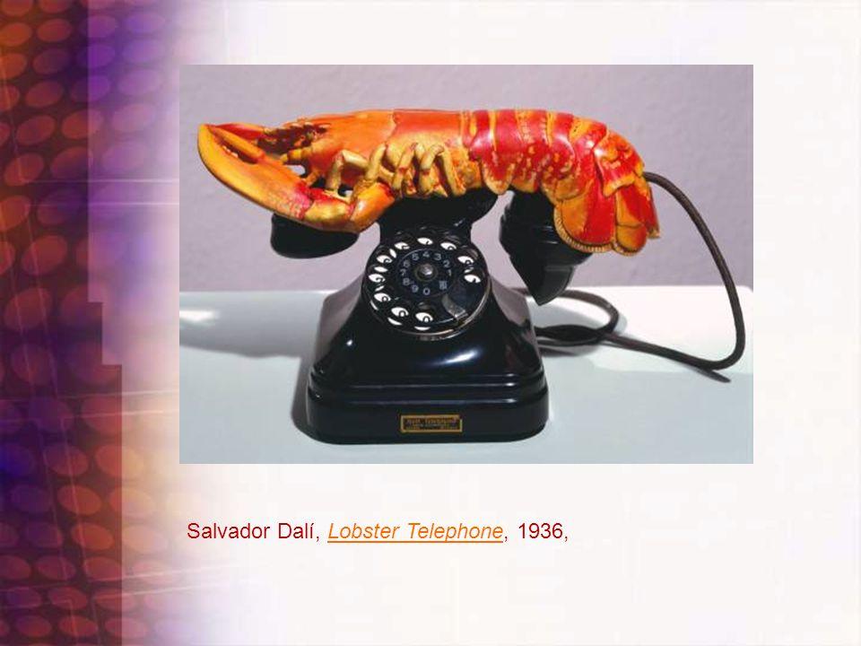 Salvador Dalí, Lobster Telephone, 1936,Lobster Telephone