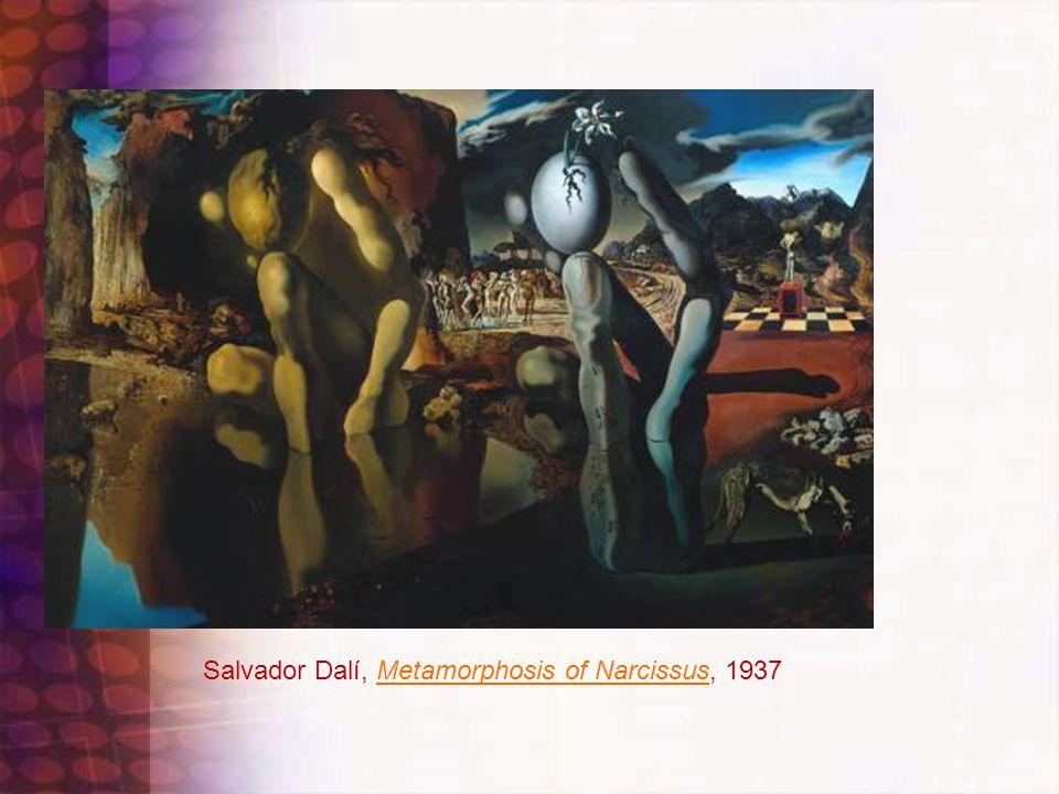 Salvador Dalí, Metamorphosis of Narcissus, 1937Metamorphosis of Narcissus