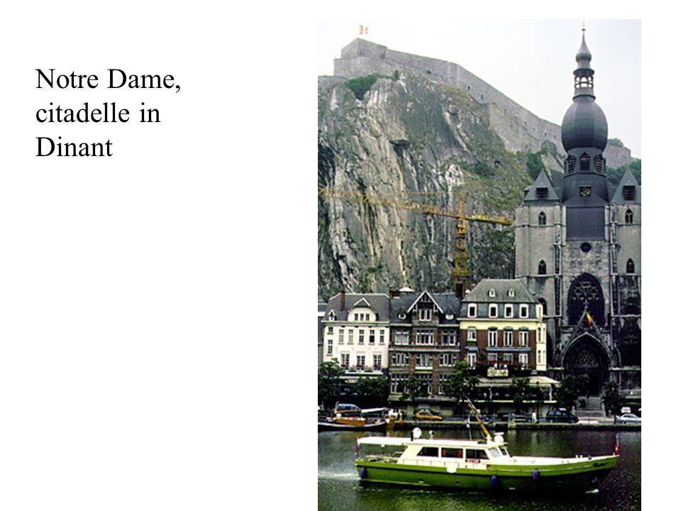 Notre Dame, citadelle in Dinant