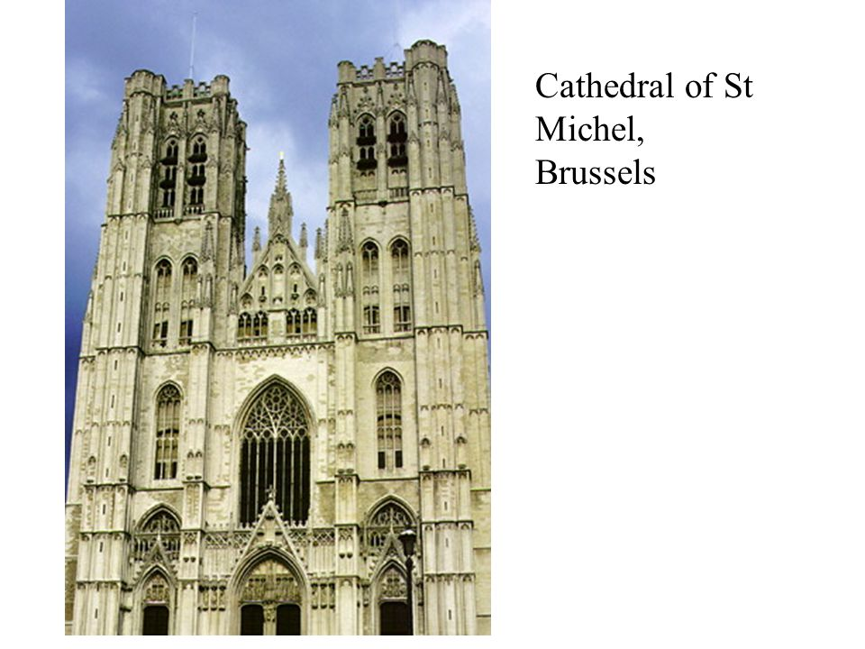 Cathedral of St Michel, Brussels