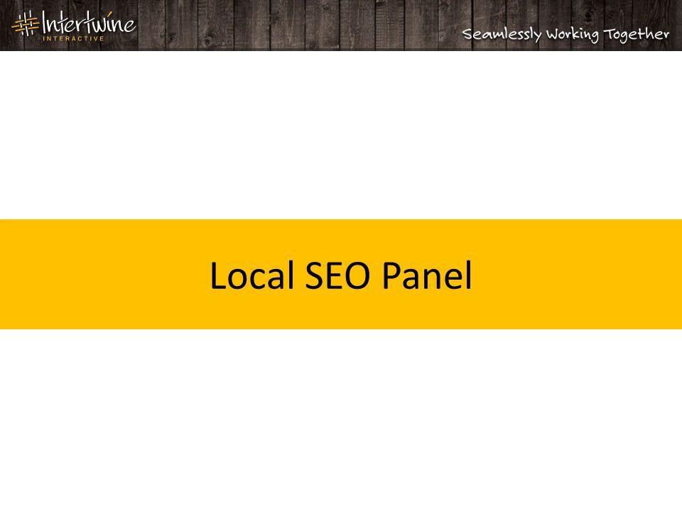 Local SEO Panel