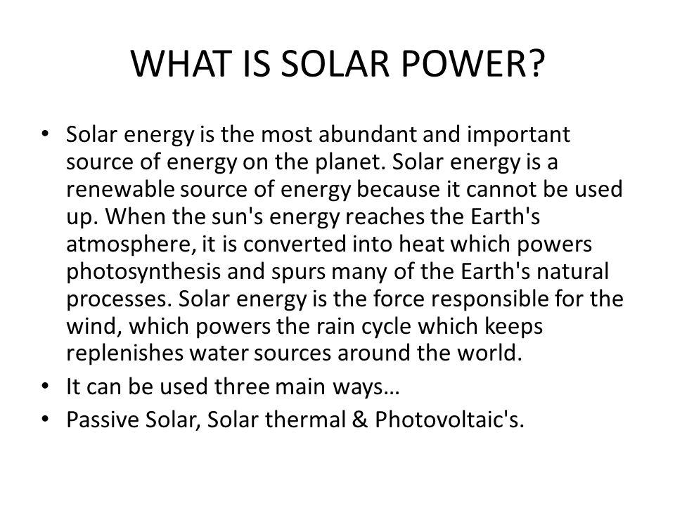 Solar Panels are Everywhere !!!