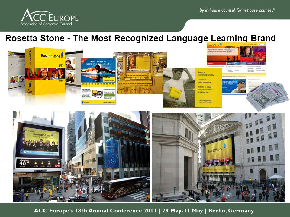 Rosetta Stone - The Most Recognized Language Learning Brand 27