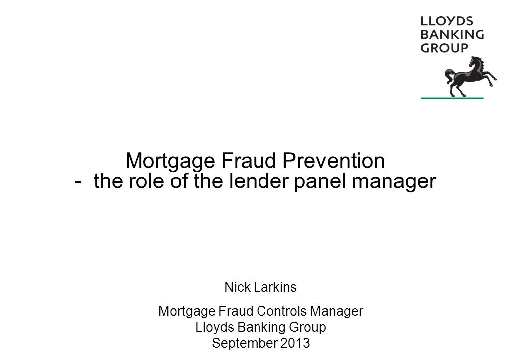 12 Compliance with the CML Handbook Timely registration of charge Notify the lender of changes to the firm Notify the lender of any suspicions on a case Confirm probity of the vendor solicitor Carefully vet new employees Controls over staff, client account, transparency Your panel membership Compliance with the CML Handbook Build on solid foundations
