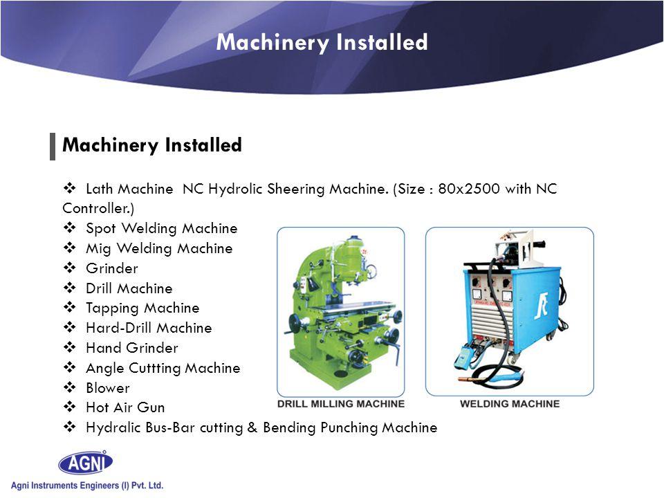 \ NC HYDROLIC PRESS BREAK (Size : 3104 with NC Controller.) NC Hydrolic Sheering Machine.