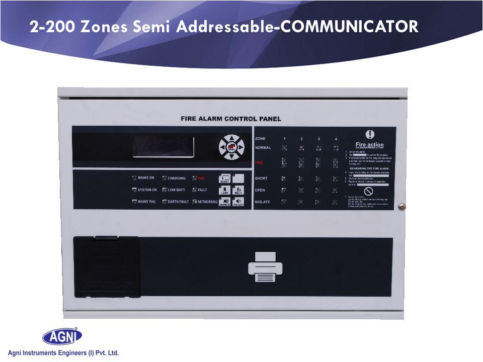 2-200 Zones Semi Addressable-COMMUNICATOR