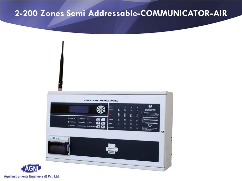 2-200 Zones Semi Addressable-COMMUNICATOR-AIR