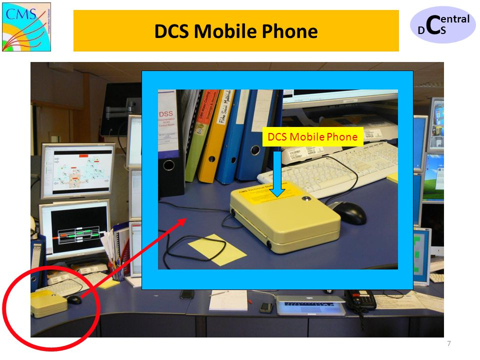 7 DCSDCS entral DCS Mobile Phone