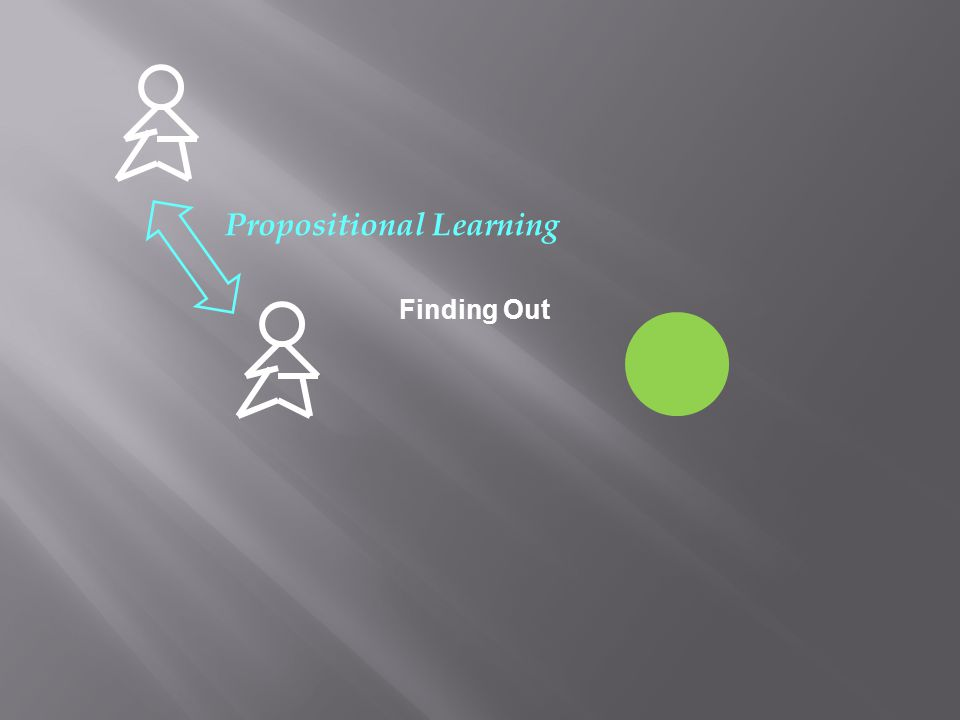 Finding Out Propositional Learning