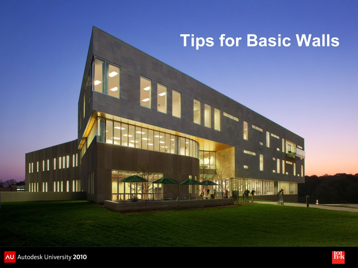 Tips for Basic Walls